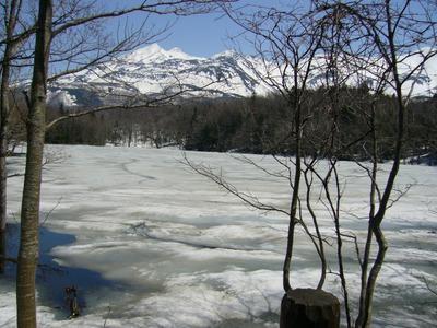 四湖の風景