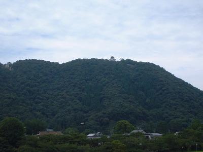 麓からの岩国城