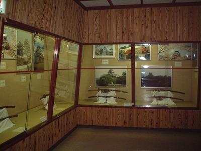 岩国城内展示物