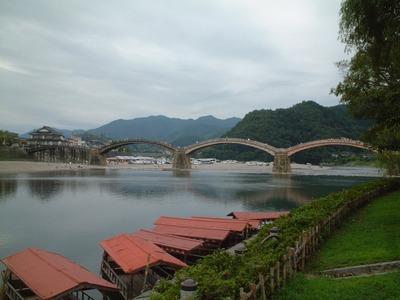 錦帯橋全貌