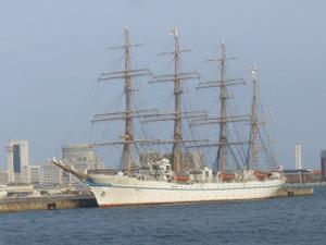 練習帆船「日本丸」