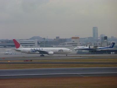 日本航空「嵐JET」