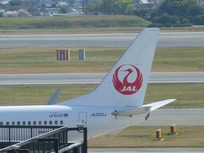 JALの鶴丸機