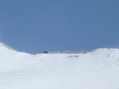 雄山の下の山小屋