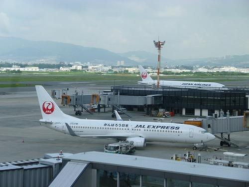 JALエクスプレスの鶴丸