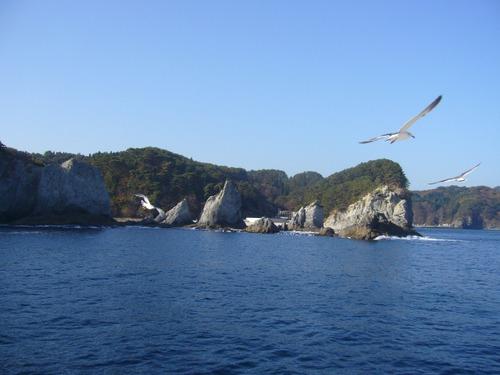 浄土ヶ浜島めぐり