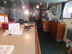 操舵室後方部屋