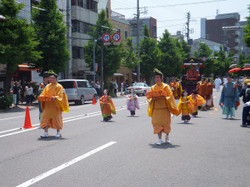 葵祭のヒロイン斎王代
