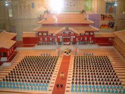 琉球王国の模型