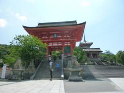 仁王門、三重塔