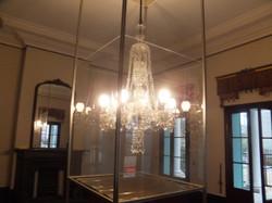 1階北東室のガス等時代の照明器具