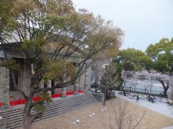 2階から望む旧桜ノ宮公会堂