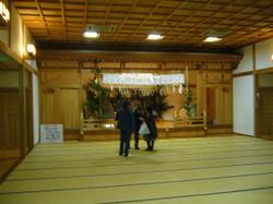 高千穂神社境内の神楽殿