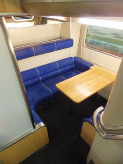 個室スペース座席