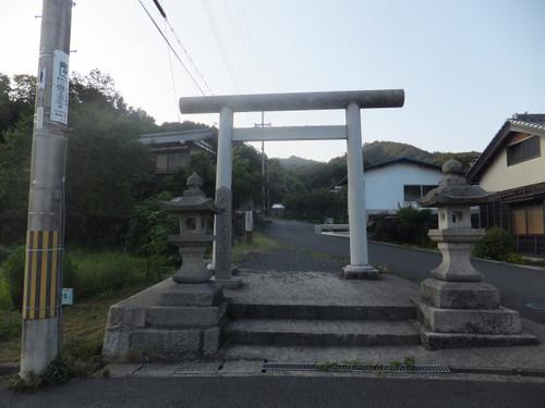真名井神社入口の鳥居
