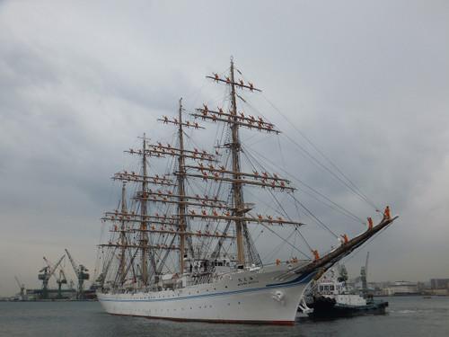 練習帆船「海王丸」Dscf0246