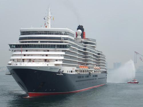 豪華客船クィーンエリザベス