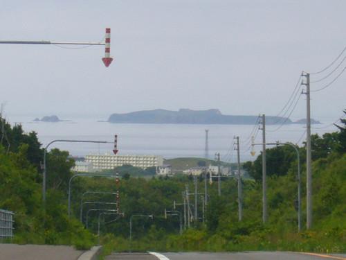 礼文島からの海馬島(トド島)