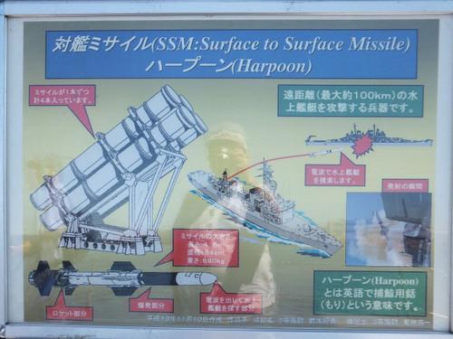 ハープーン対艦ミサイル