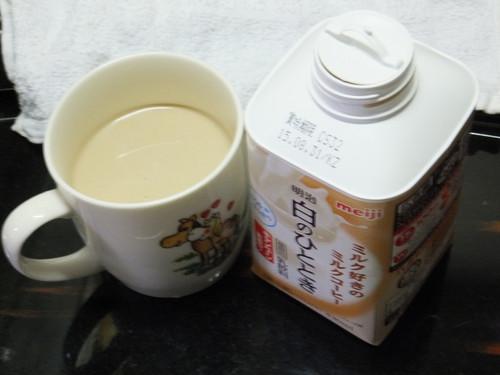 まろやかな明治のミルクコーヒー