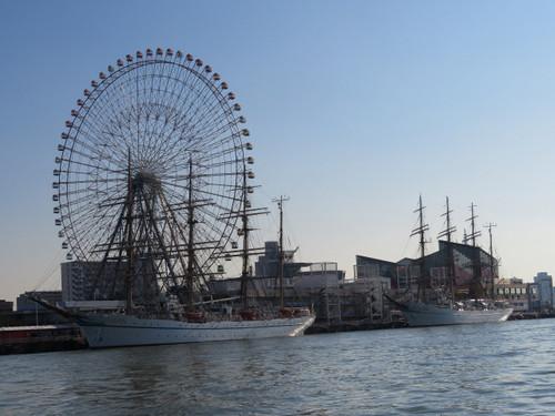 """帆船日本丸と海王丸"""""""