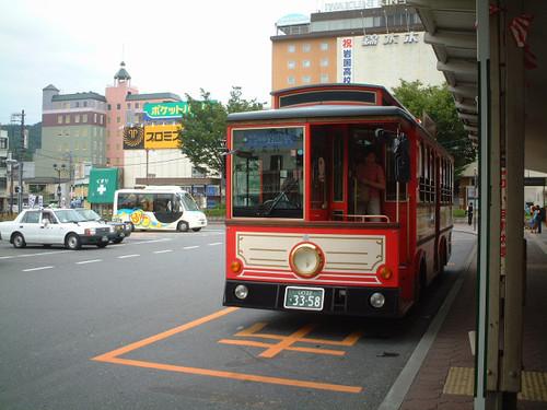 電車型バス「いちすけ号」